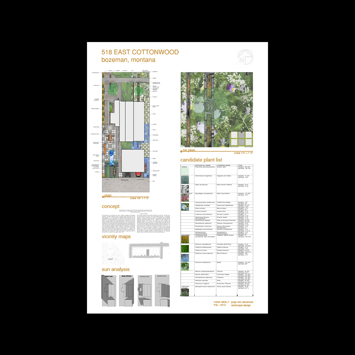 c63243417c9 Cottonwood Residential Layout « Design by Yana