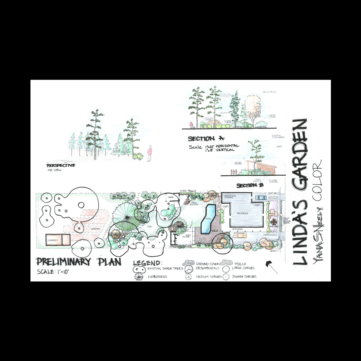 5e6fa0a10f319a Linda s Garden Rendered Plan « Design by Yana