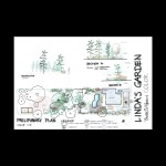 Linda's Garden Rendered Plan